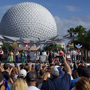 15 of 44: Epcot - 25th Anniversary