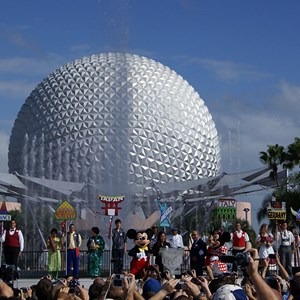 17 of 44: Epcot - 25th Anniversary