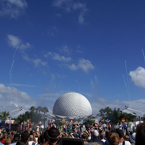 19 of 44: Epcot - 25th Anniversary