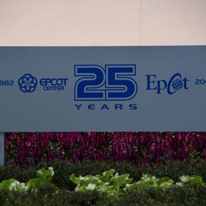32 of 44: Epcot - 25th Anniversary