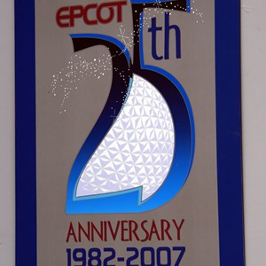 34 of 44: Epcot - 25th Anniversary