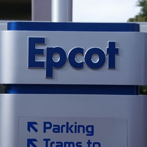 3 of 3: Epcot - New main entrance area signs
