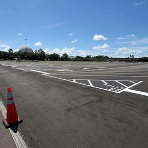 1 of 3: Epcot - Parking lot refurbishment