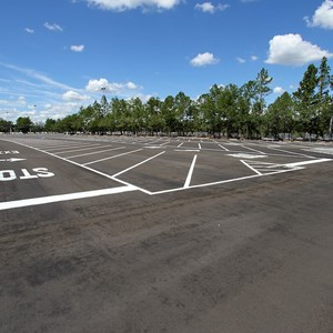 3 of 3: Epcot - Parking lot refurbishment