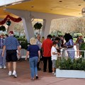 Epcot - Entering the group RFID entry area