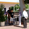 Epcot - The single guest entry with one RFID reader