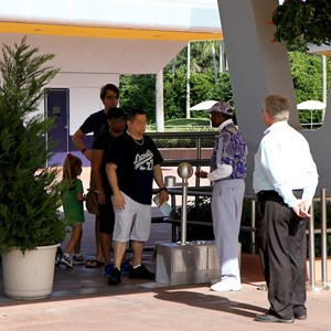 6 of 7: Epcot - The single guest entry with one RFID reader