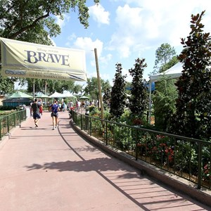 1 of 8: Epcot - Brave - The Highland Game Tournament