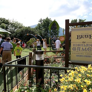 3 of 8: Epcot - Brave - The Highland Game Tournament