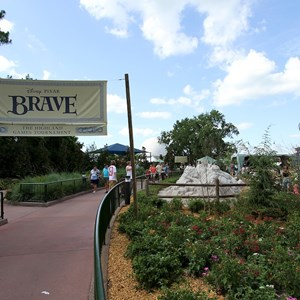 7 of 8: Epcot - Brave - The Highland Game Tournament