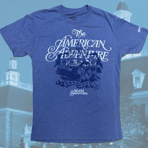 1 of 4: Epcot - Epcot 30th Anniversary retro T-Shirt - The American Adventure