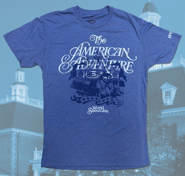 Epcot - Epcot 30th Anniversary retro T-Shirt - The American Adventure