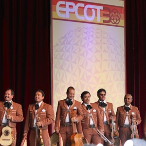 4 of 11: Epcot - Epcot 30th Anniversary moment - Mariachi Cobre