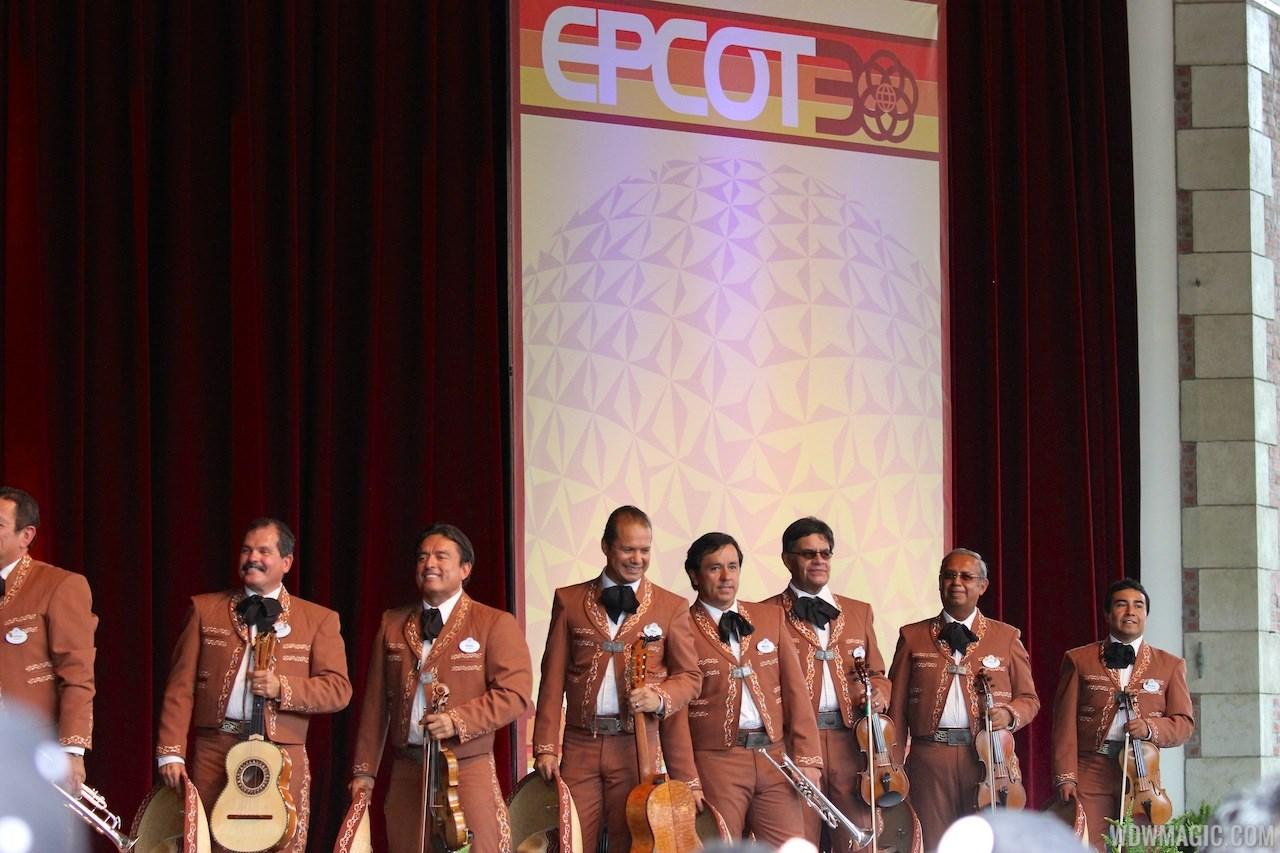 Epcot 30th Anniversary moment