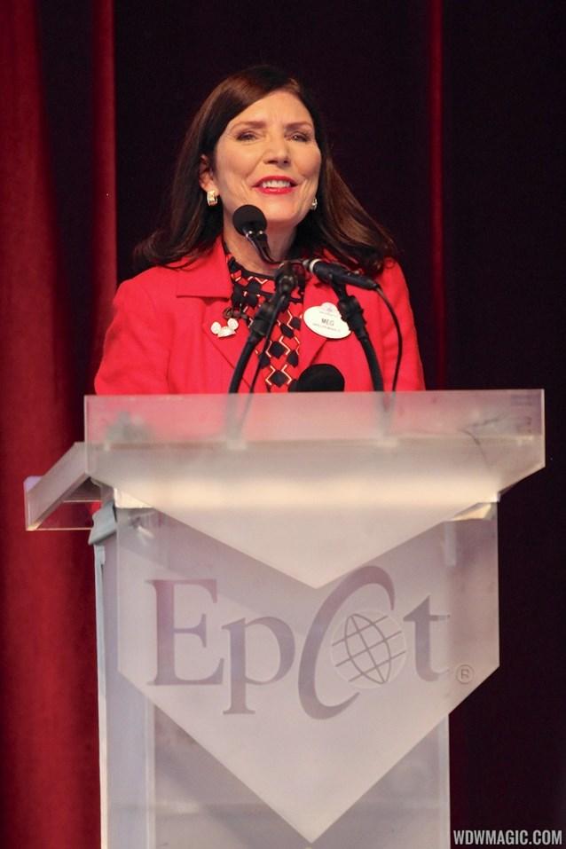 Epcot - Epcot 30th Anniversary moment - Meg Crofton