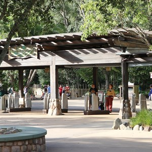 1 of 12: Epcot - New RFID turnstile entrance at Disney's Animal Kingdom