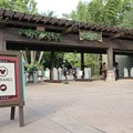 Epcot - New RFID turnstile entrance at Disney's Animal Kingdom