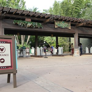2 of 12: Epcot - New RFID turnstile entrance at Disney's Animal Kingdom