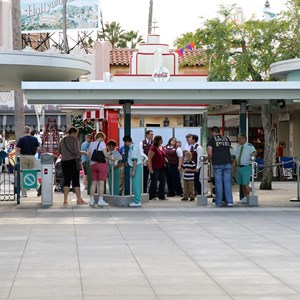 3 of 12: Epcot - New RFID turnstile entrance at Disney's Hollywood Studios