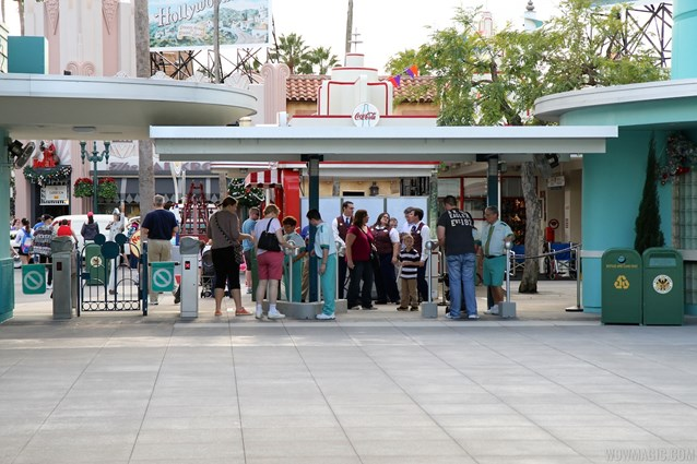 Epcot - New RFID turnstile entrance at Disney's Hollywood Studios