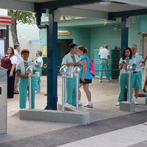 4 of 12: Epcot - New RFID turnstile entrance at Disney's Hollywood Studios