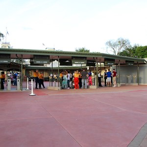5 of 12: Epcot - New RFID turnstile entrance at the Magic Kingdom
