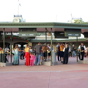 6 of 12: Epcot - New RFID turnstile entrance at the Magic Kingdom