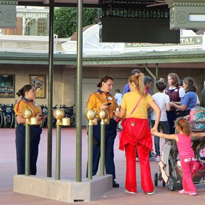 7 of 12: Epcot - New RFID turnstile entrance at the Magic Kingdom