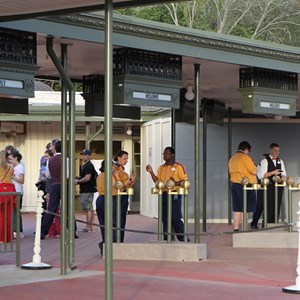 8 of 12: Epcot - New RFID turnstile entrance at the Magic Kingdom
