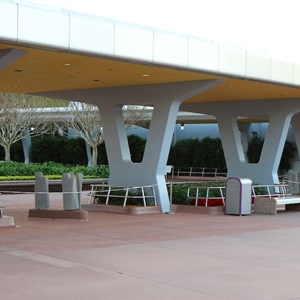 9 of 12: Epcot - New RFID turnstile entrance at Epcot
