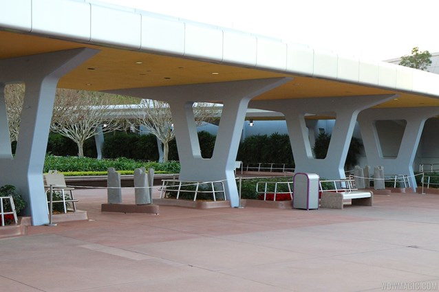 Epcot - New RFID turnstile entrance at Epcot