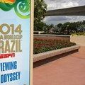 Epcot - 2014 FIFA World Cup at Epcot - Odyssey Viewing area sign