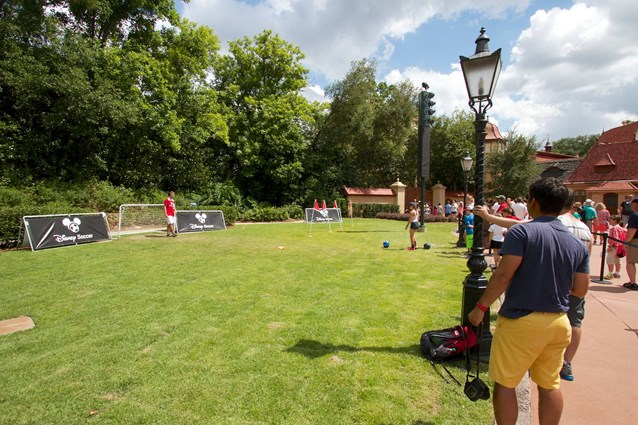 Epcot - 2014 FIFA World Cup at Epcot - Soccer experience in Germany Pavilion