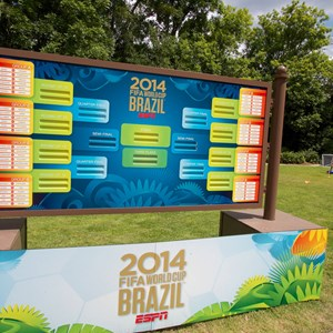 4 of 12: Epcot - 2014 FIFA World Cup at Epcot - Soccer experience in Germany Pavilion