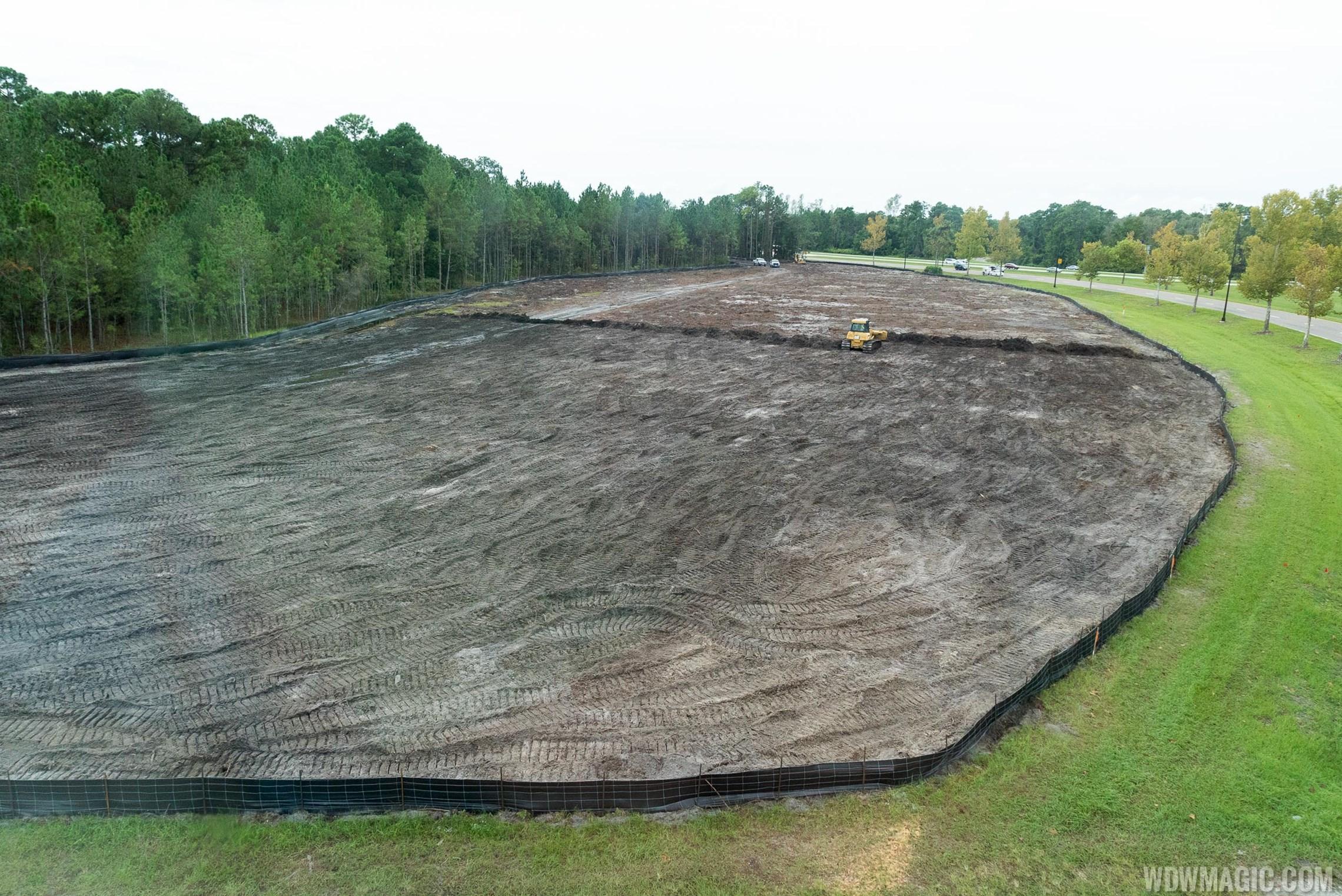 Solar Farm construction near Epcot