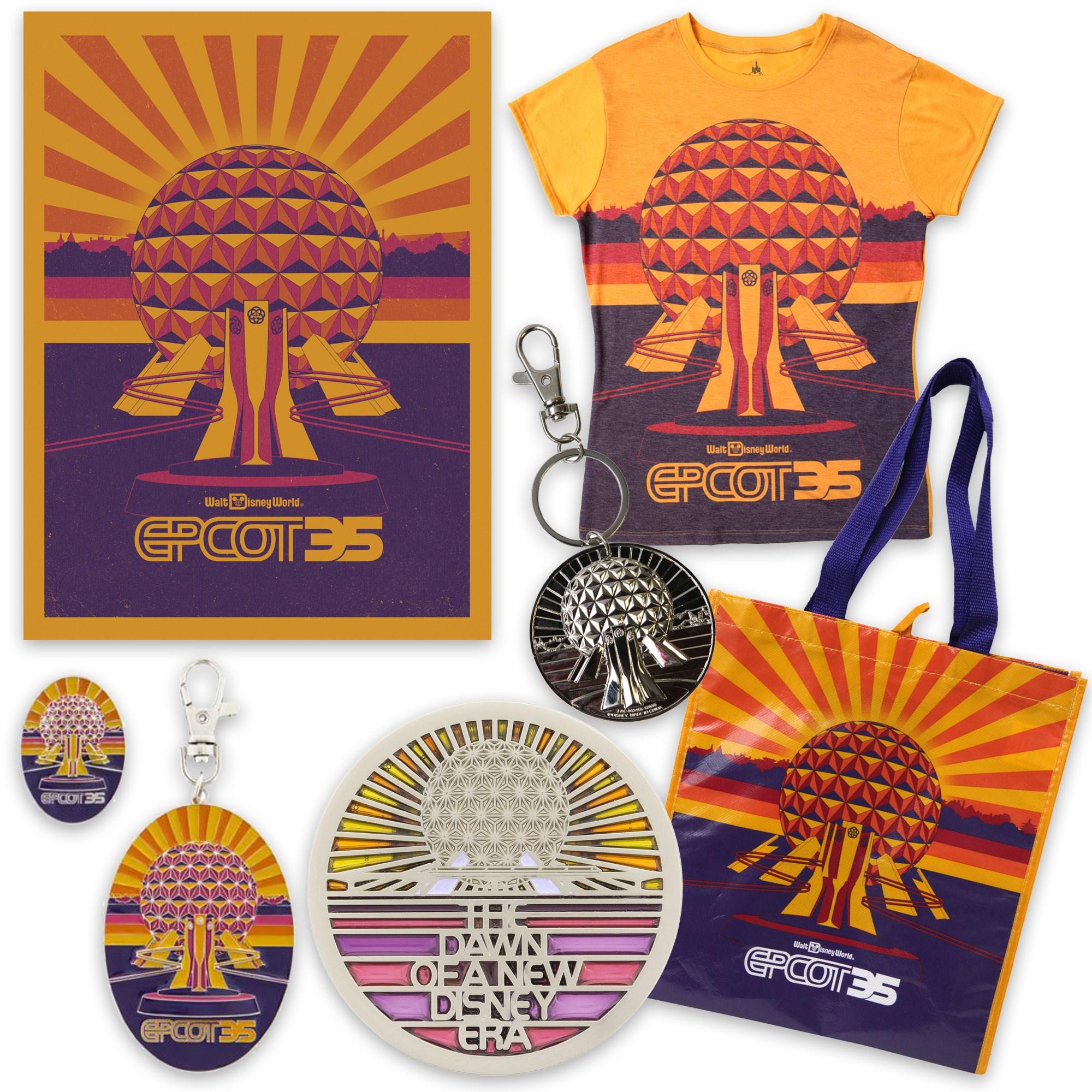 Epcot 35th Merchandise