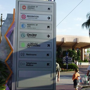 4 of 5: Epcot - New Signs