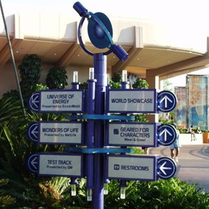 5 of 5: Epcot - New Signs