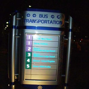 1 of 1: Epcot - New parking lot signs