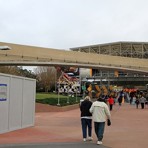 4 of 8: Epcot - Monorail beam refurbishment