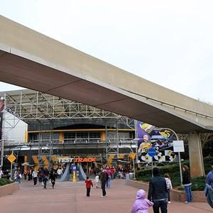 6 of 8: Epcot - Monorail beam refurbishment