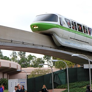 7 of 8: Epcot - Monorail beam refurbishment