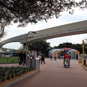 8 of 8: Epcot - Monorail beam refurbishment