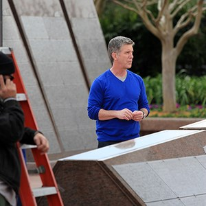 7 of 8: Epcot - Tom Bergeron filming America's Funniest Home Videos at Epcot