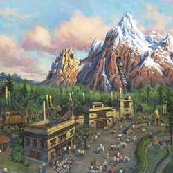 Disney Expedition EVEREST announcement concept art