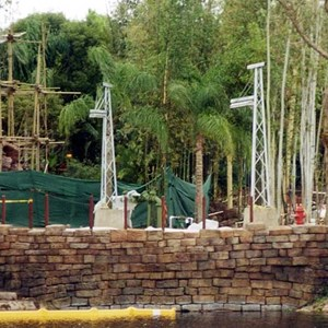 7 of 8: Expedition Everest - Expedition Everest construction