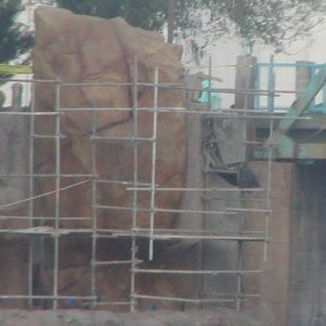 4 of 9: Expedition Everest - Expedition Everest construction