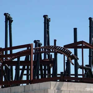 5 of 8: Expedition Everest - Expedition Everest construction