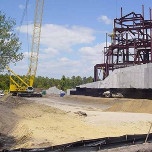 2 of 3: Expedition Everest - Expedition Everest construction