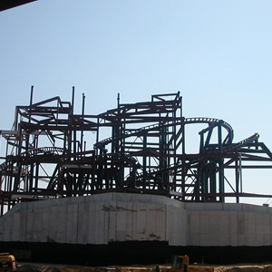 2 of 5: Expedition Everest - Expedition Everest construction